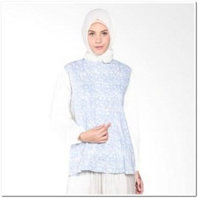 Contoh Atasan Batik Untuk Wanita Muslimah