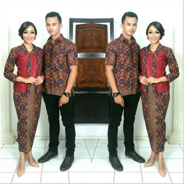 Kebaya Kutubaru Couple Kain Batik