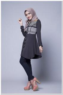 Baju dan celana kondangan simple untuk wanita
