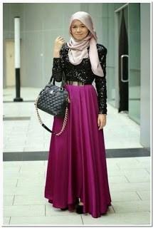 Baju kondangan simple dan elegan