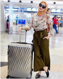 Style busana hijab laudya chintya bella