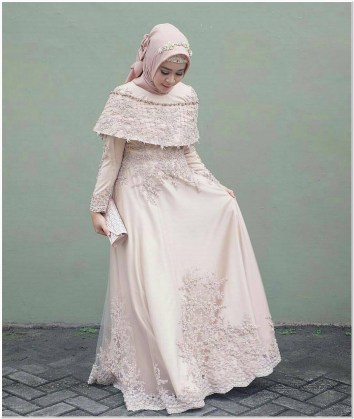 Inspirasi Baju kondangan hijabers simple