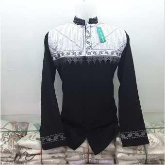 Gambar Desain baju koko kombinasi batik