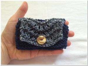 Dompet rajut kecil cantik