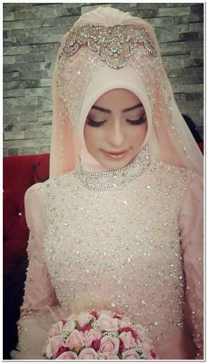 Contoh Model jilbab pengantin muslimah modern
