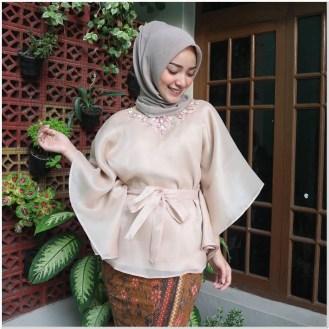 Contoh Style kondangan hijabers simple