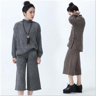 Sweater wanita korea terbaru yang elegan