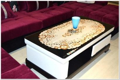 Taplak meja untuk ruang tamu