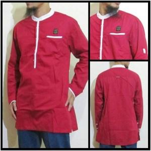 Kumpulan Gambar baju koko warna merah