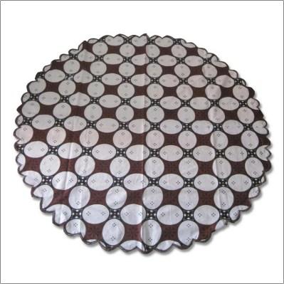 Motif batik sederhana untuk taplak meja