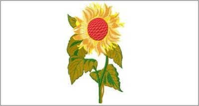 5 Motif Bordir Bunga Matahari 2019