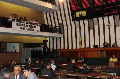 Fórum das ADs acompanhou a votação no plenário da Assembleia Legislativa da Bahia (ALBA). Foto: Murilo Bereta