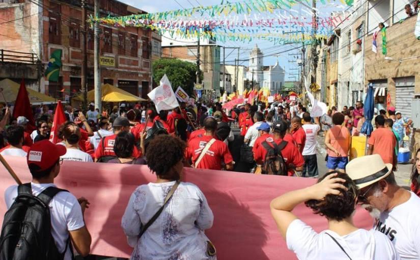 ADUSC ORGANIZA CARAVANA PARA PROTESTO NO 2 DE JULHO,EM SALVADOR