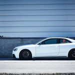 Audi S5 Adv10 M V2 Cs Matte Black Custom Wheels