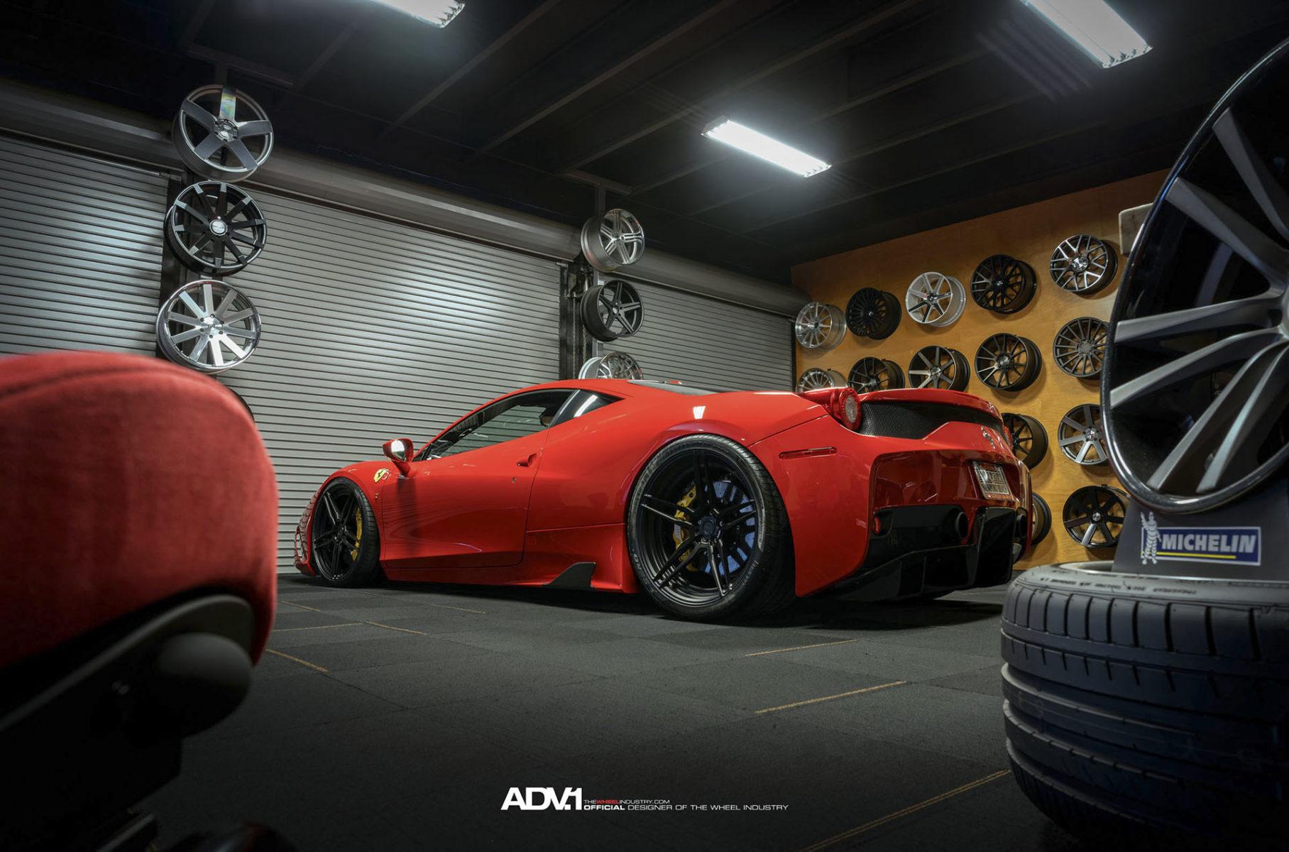 458 Ferrari Italia White Matte