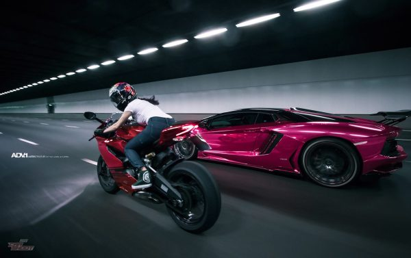 20 Chrome Pink Aventador Lamborghini Pictures And Ideas On Weric