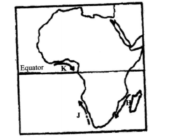 KCSE Geography Past Paper 1 2016 Map