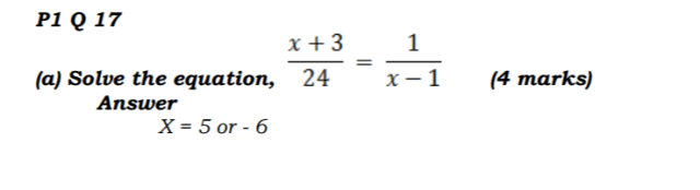 KCSE Mathematics Past Paper 1 2016: Free Revision 10