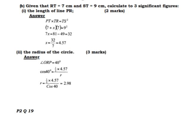 KCSE Mathematics Past Paper 2 2016: Free Tips 13