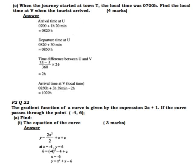 KCSE Mathematics Past Paper 2 2016: Free Tips 19