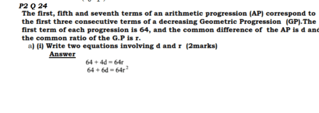KCSE Mathematics Past Paper 2 2016: Free Tips 22