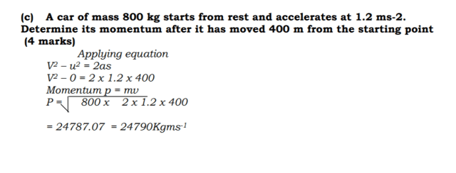 KCSE Physics Past Paper 1 2016: Best Free Study 22