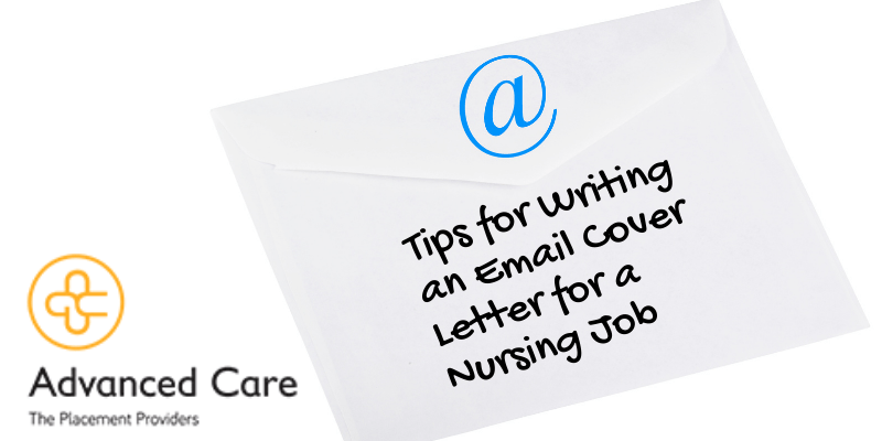 Tips for Writing an Email Cover Letter for a Nursing Job