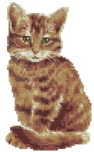 Advanced Embroidery Designs  Tabby Cat