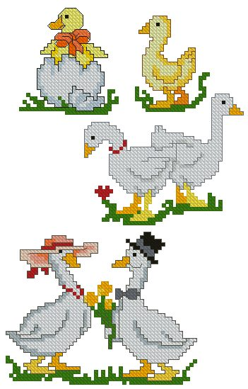 Advanced Embroidery Designs  Goose Set