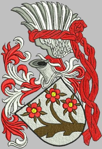 Advanced Embroidery Designs  Medieval Coat of Arms