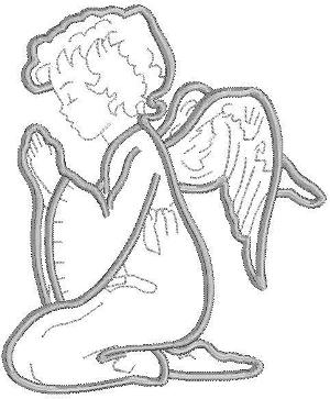 Advanced Embroidery Designs Little Angel