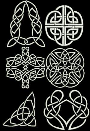 Advanced Embroidery Designs Celtic Motif Set IV