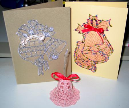 Greeting Cards With Cutwork Lace Advanced Embroidery Designs