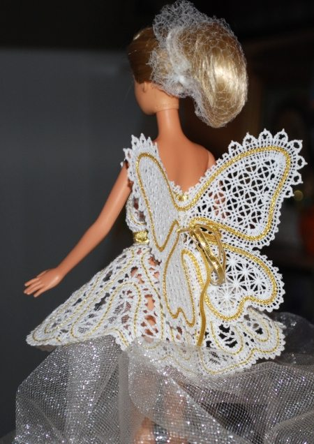 FSL Battenberg Fairy Wings for 12 Dolls  Advanced Embroidery Designs