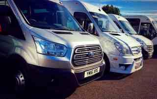 Our Fleet Minibus Hire