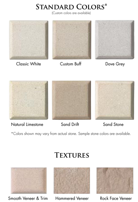 Architectural Stone | Color Charts