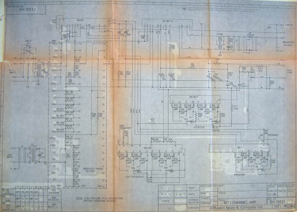 20+ Neve 1073 Preamp Schematic Pictures and Ideas on Meta Networks