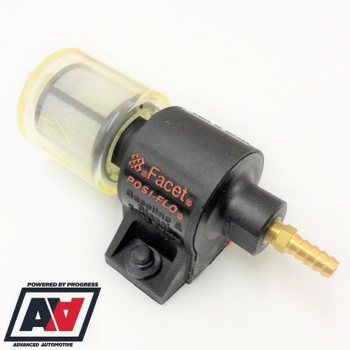 small resolution of facet fuel pump kit posi flow low pressure 12mm to 10mm hose 12v 1 5 to 4 psi advanced automotive