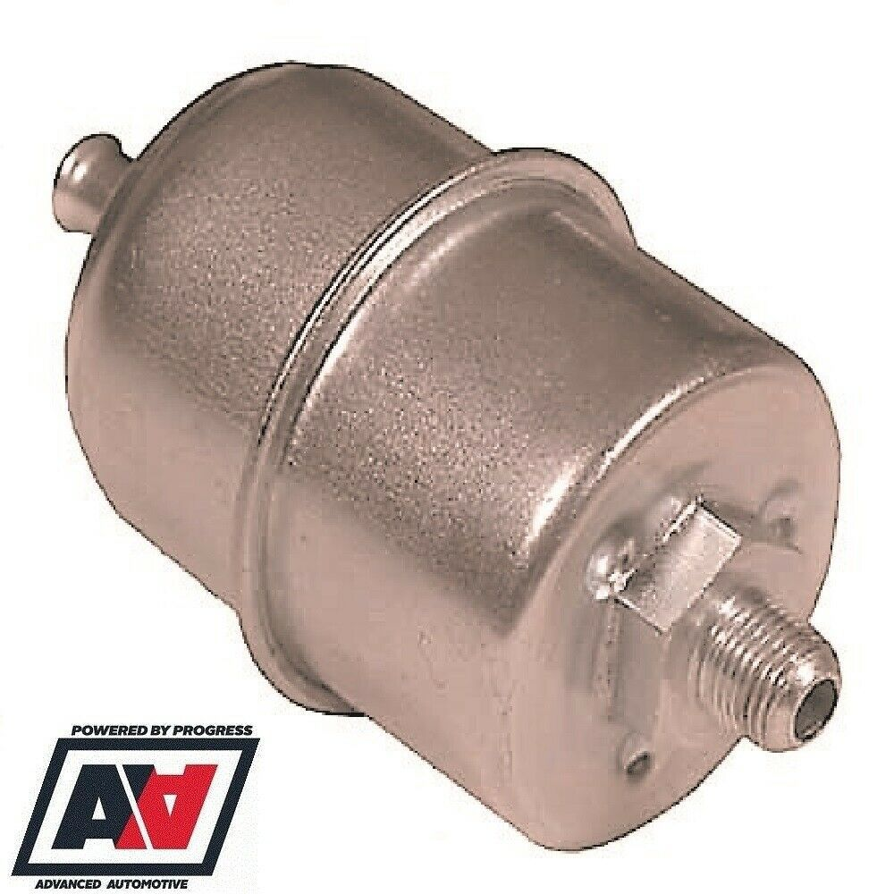 medium resolution of facet motorsport fuel pump filter for cube posi flow 8mm 5 16 hose tail advanced automotive