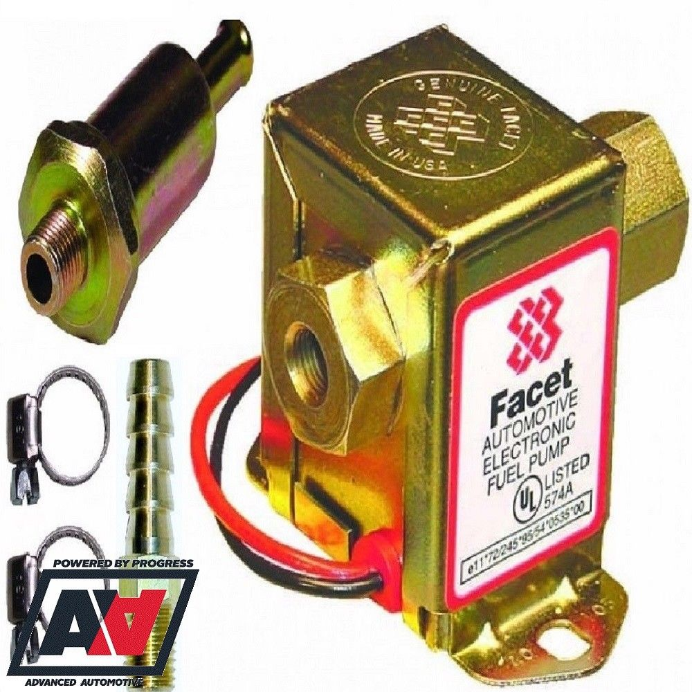 hight resolution of facet solid state cube fuel pump kit 7 0 10 psi with 8mm unions fuel filter 4463 1 p jpg
