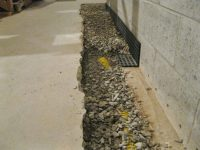 Interior Waterproofing - Advanced Basement Solutions
