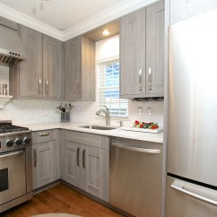 Instock Kitchen Cabinets Modern White Victoria  And Bath
