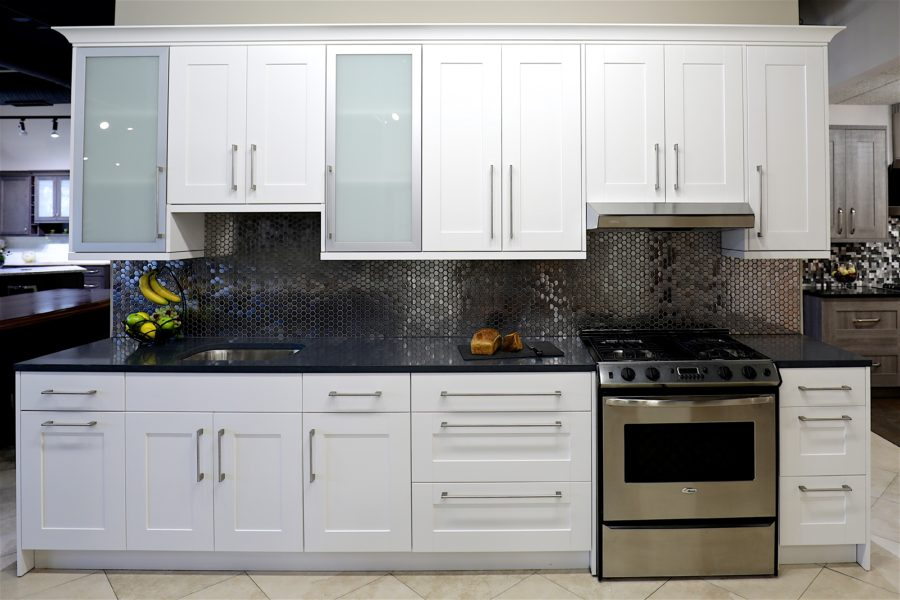 White Shaker Cabinets in Stock  Kitchen Cabinets