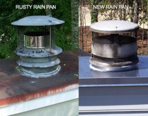 Rain Pan Services Atlanta Marietta Ga Advanced Chimney