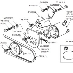 Land Rover Discovery Parts Diagram Fender Wiring Diagrams 200tdi Power Steering Pump - Defender