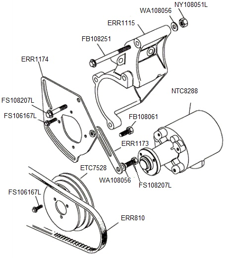 Service manual [2004 Land Rover Discovery Steering Rack