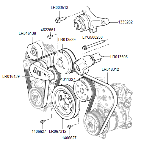 [DIAGRAM] Land Rover Engine Belt Diagram 4 FULL Version HD