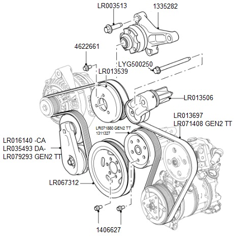 Range Rover Evoque Engine Sport Utility Vehicle Wiring