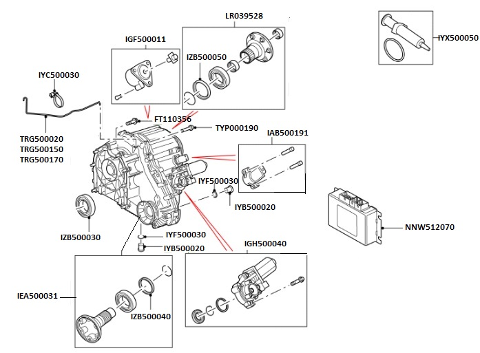 Land Rover Discovery Sport Parts Diagram