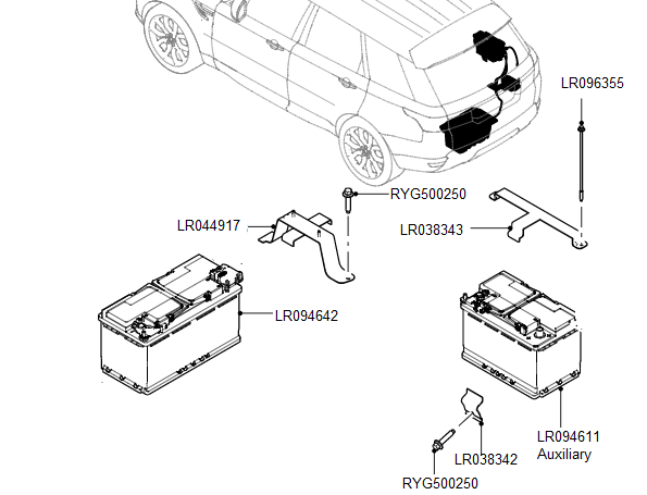 2015 Range Rover Sport Battery Location
